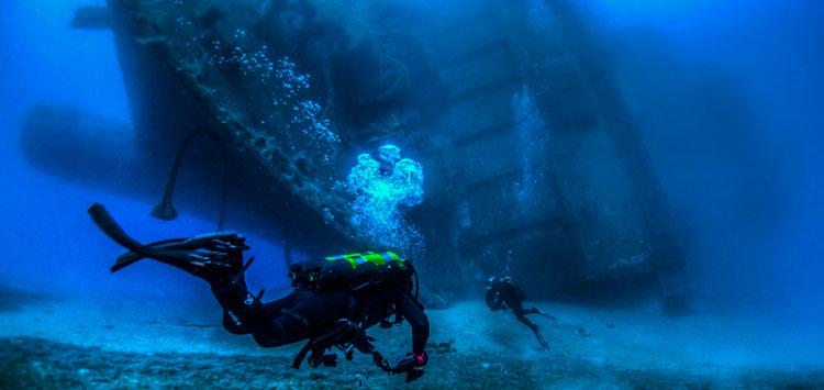 Paphos Best Dive Destinations for Underwater Photography