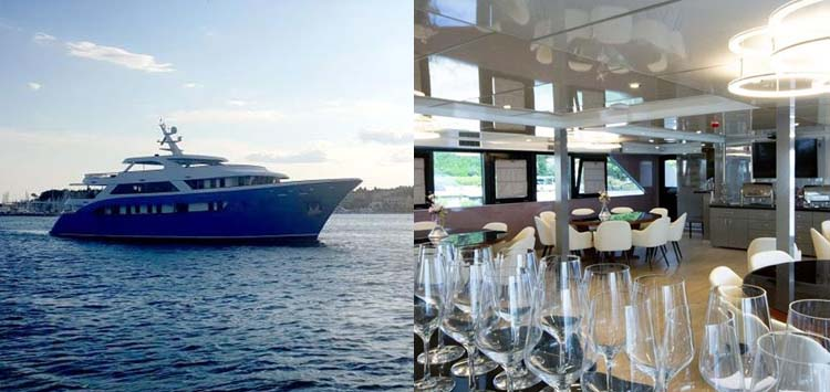 San Antonio Cruise Ship, Croatia Liveaboard
