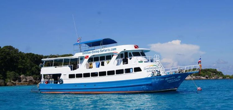 Similan Explorer, Thailand Diving Liveaboard
