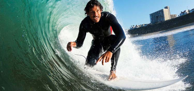 Different Types of Wetsuits Surfing