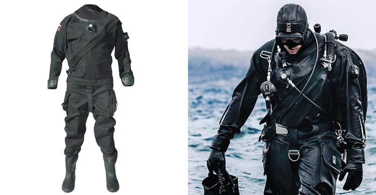 Pinnacle Evolution 2 Scuba Diving Unisex Drysuit