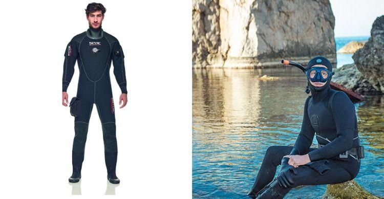 SEAC Men's Warm Dry Neoprene Suit