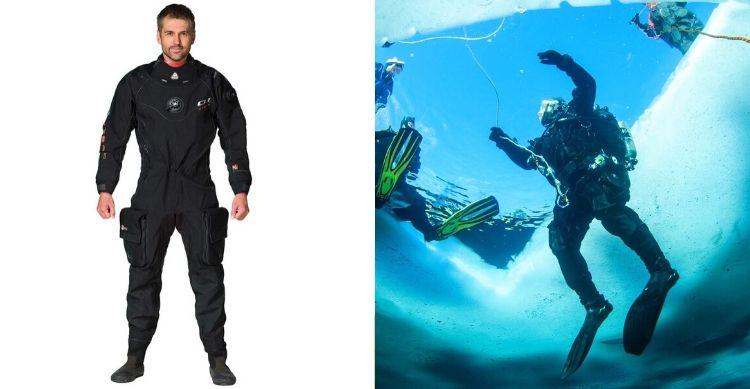 Waterproof Men's D1 Hybrid Drysuit