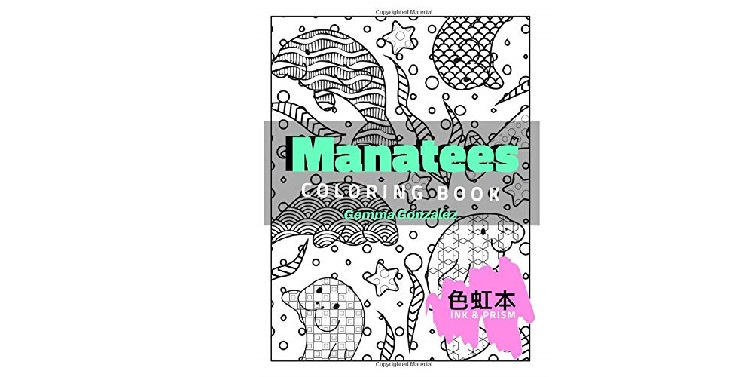 Manatees Color Book for Adults by Gemma Gonzalez